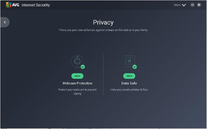 AVG Internet Security - Imagem 2 do software