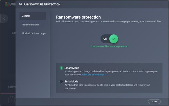 AVG Internet Security - Imagem 5 do software