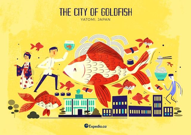 Cidade do peixe dourado