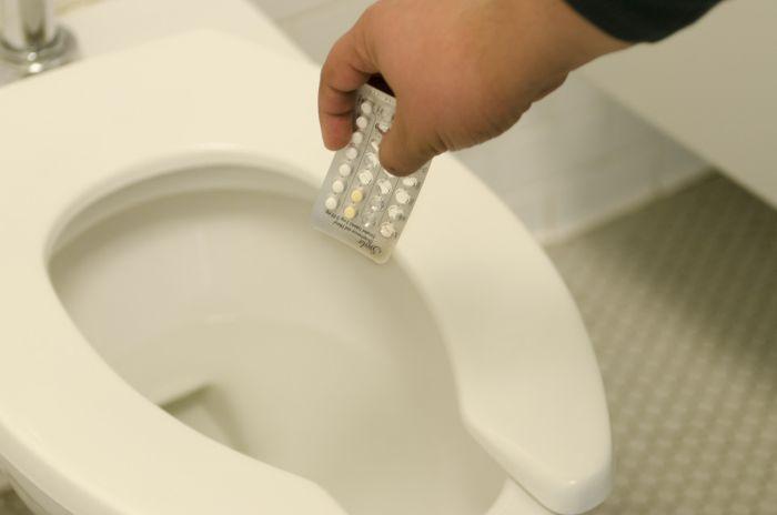 Remédio vaso sanitário