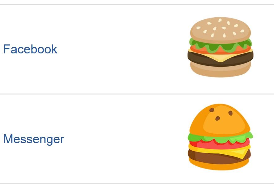 Um desenho de um hambúrguer.
