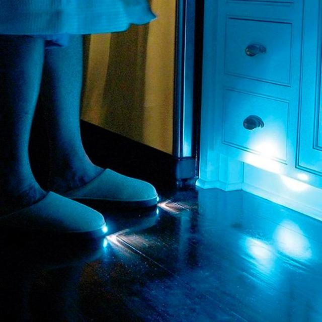 Pantufas com lanternas