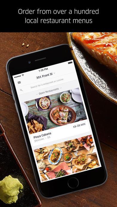 UberEATS: Food Delivery - Imagem 2 do software