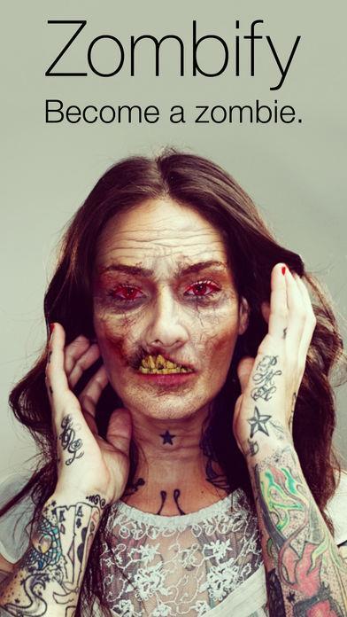 Zombify - Turn yourself into a Zombie - Imagem 1 do software