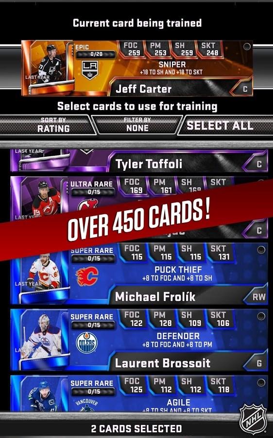 NHL SuperCard 2K18 - Imagem 1 do software