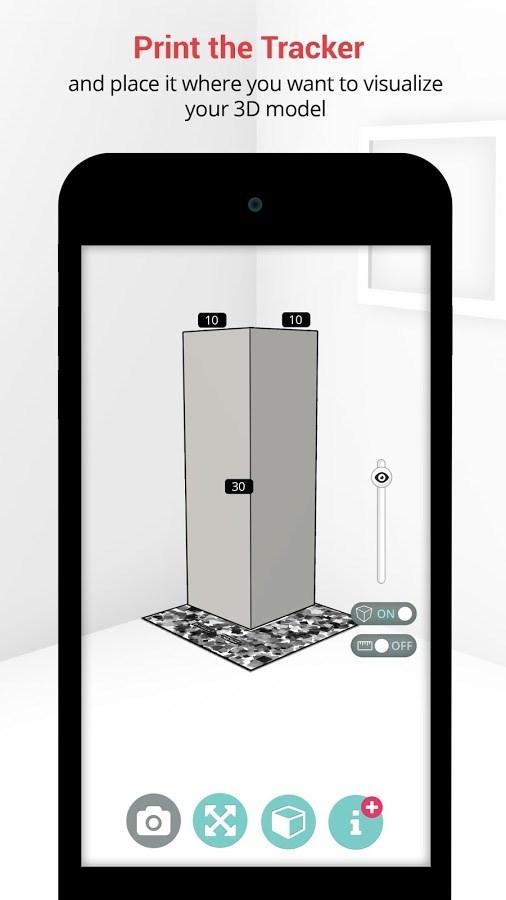 SizAR - Augmented Reality - Imagem 1 do software