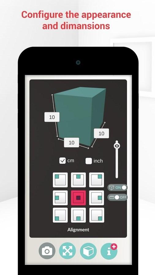 SizAR - Augmented Reality - Imagem 2 do software