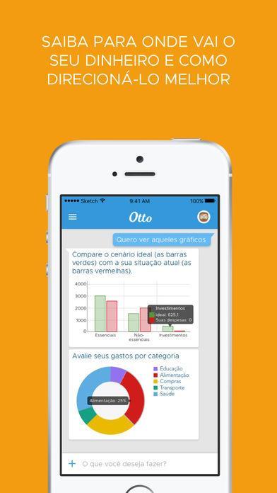 Otto Assistente -  Finanças pessoais sem planilha - Imagem 2 do software