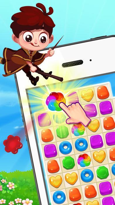 Jellipop Match - New Exciting Match-3 - Imagem 1 do software
