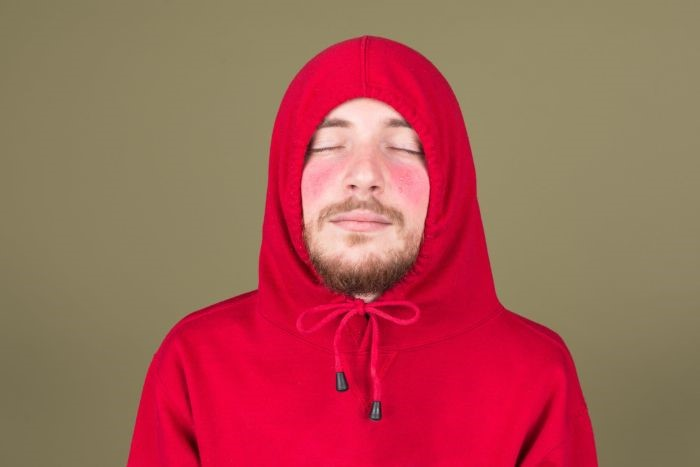 Bochecha vermelha