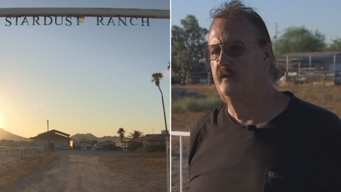 Visitas alienígenas são constantes no rancho Stardust, garante o atual dono, John Edmonds (Crédito: Reprodução)