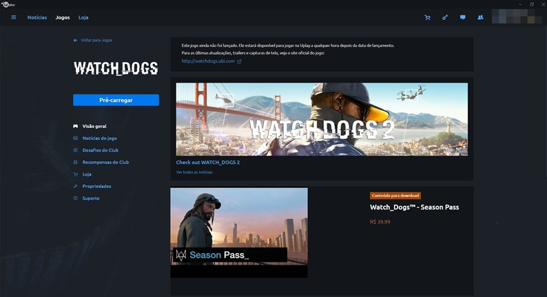 Watch Dogs ficará gratuito no PC por tempo limitado; veja como adquirir