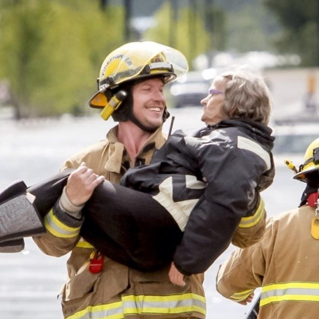 O resgate engraçado