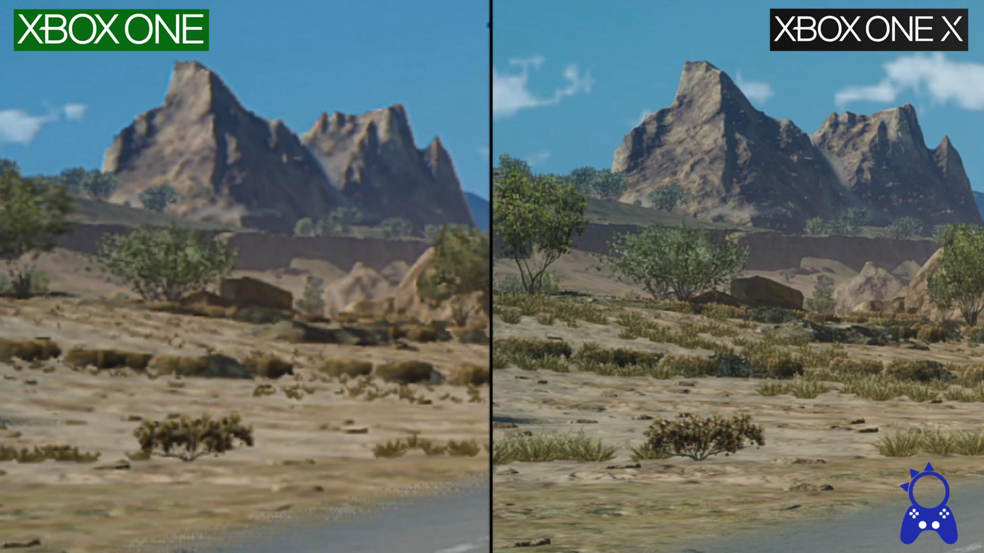 Final Fantasy XV no Xbox One X traz melhorias gritantes em relação ao Xone