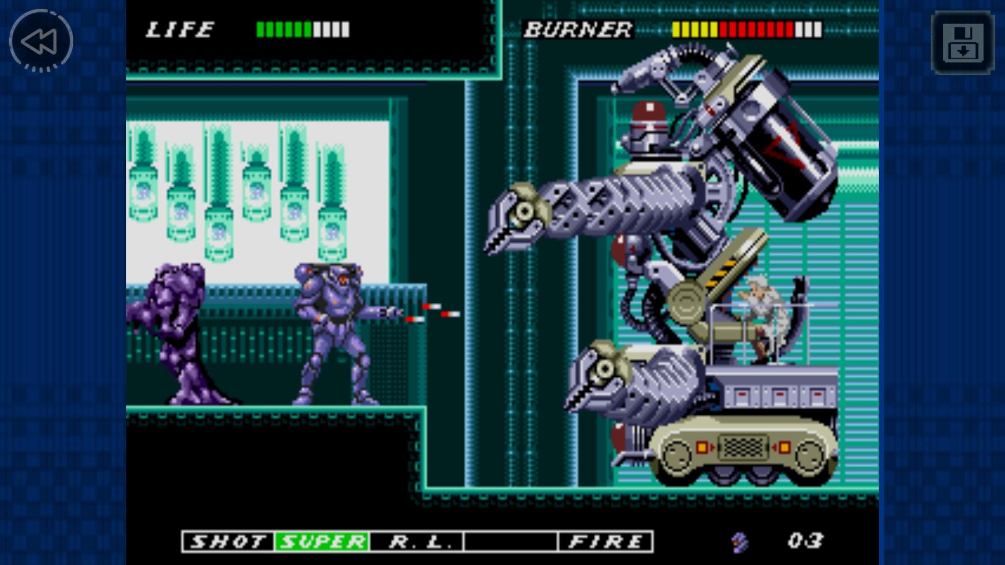 ESWAT: City Under Siege, de Mega Drive, é o novo jogo da SEGA Forever