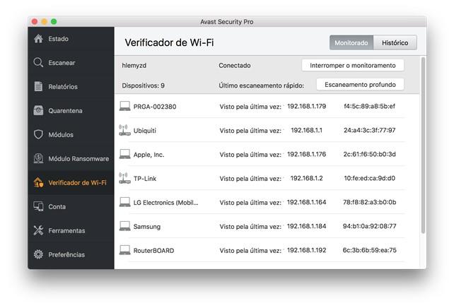 Avast Security for Mac - Imagem 2 do software