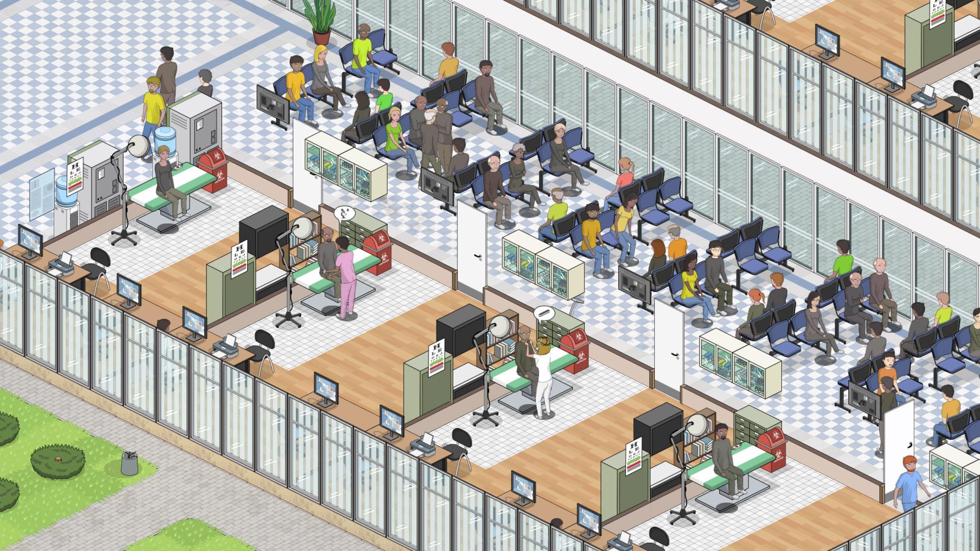 Project Hospital promete resgatar os melhores momentos de Theme Hospital