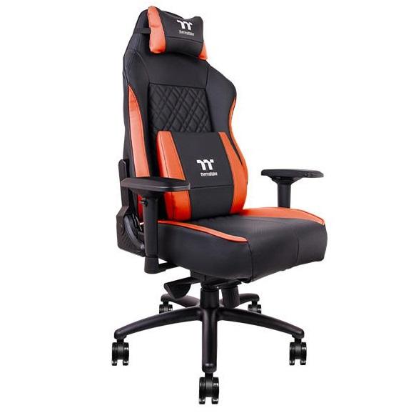 Nova cadeira gamer da Thermaltake tem ventoinhas no assento para refrescar