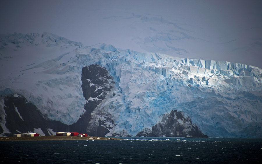 Base militar na Antártida