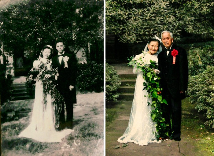 casal junto há muito tempo