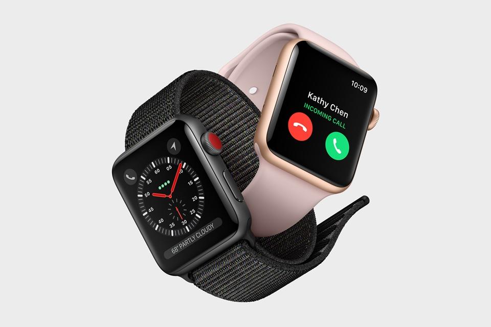 aaece743c8b Apple Watch Series 3 já está à venda no Brasil por R  2