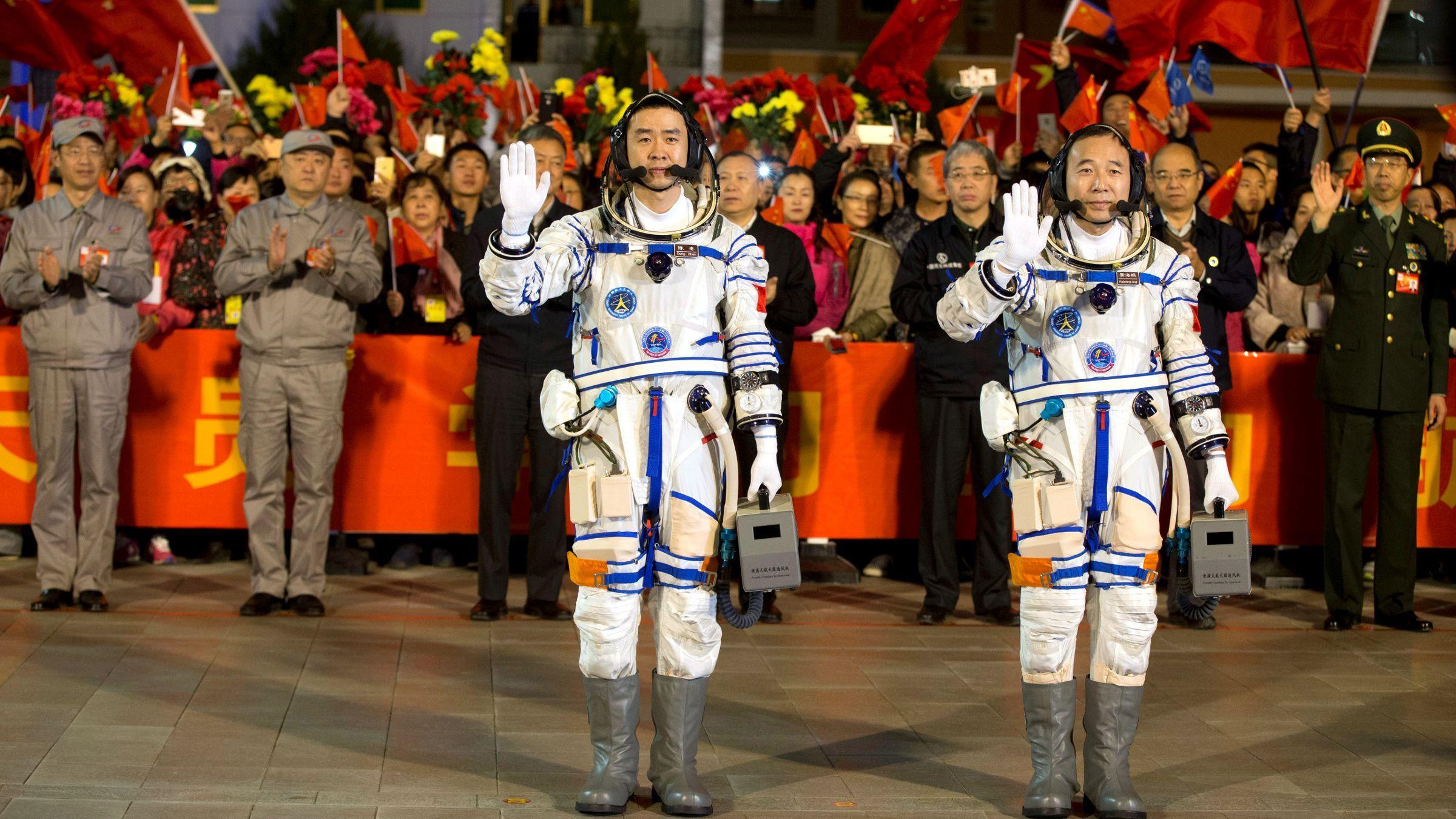 astronautas china
