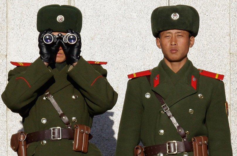 Soldados norte coreanos
