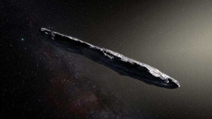 Por primera vez astrónomos detectan un objeto interestelar