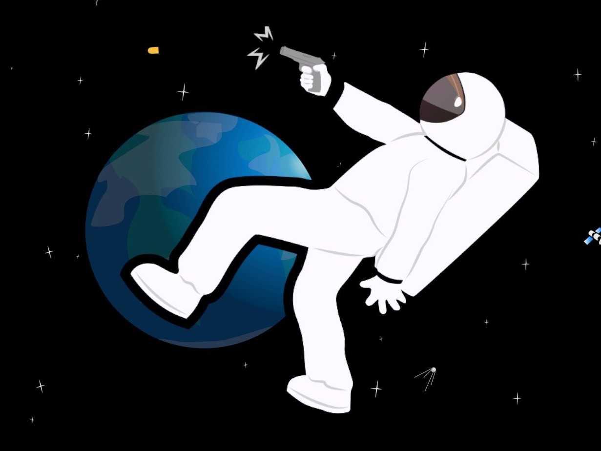 Astronauta armado