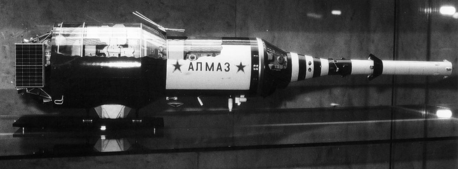 Modelo estação espacial Almaz
