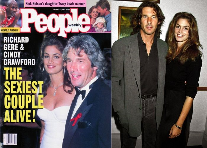 Richard Gere & Cindy Crawford