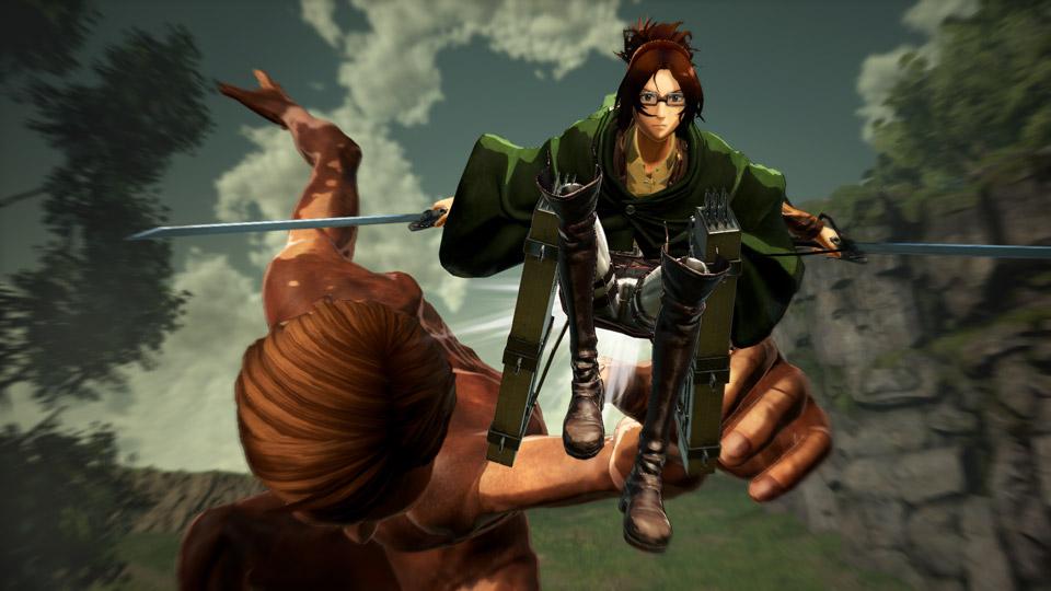 Screenshots de Attack on Titan 2 mostram novos personagens e mecânicas
