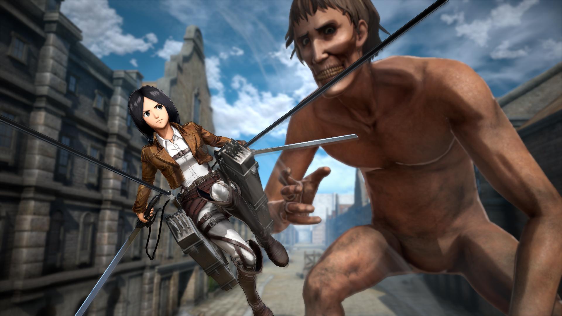 Attack on Titan 2 ganha novas screenshots que mostram novos heróis jogáveis