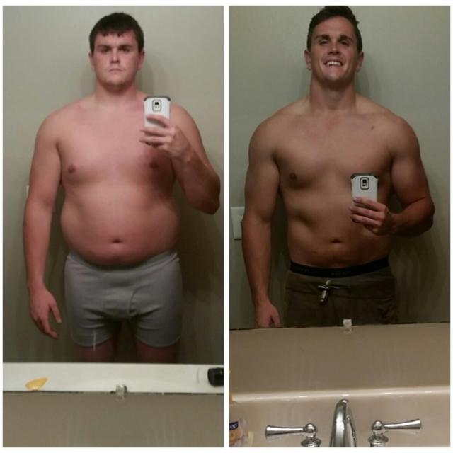 ele perdeu 17 kg