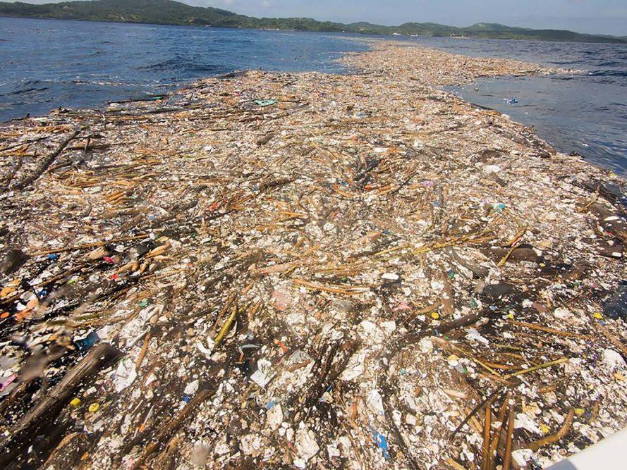 Lixo no Caribe