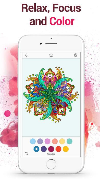 Colorflow Adult Coloring Book - Imagem 1 do software