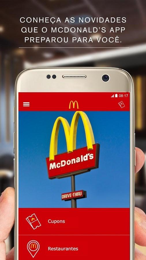 McDonald`s App - Imagem 1 do software