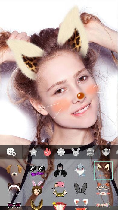 Candy Selfie Camera - Imagem 2 do software