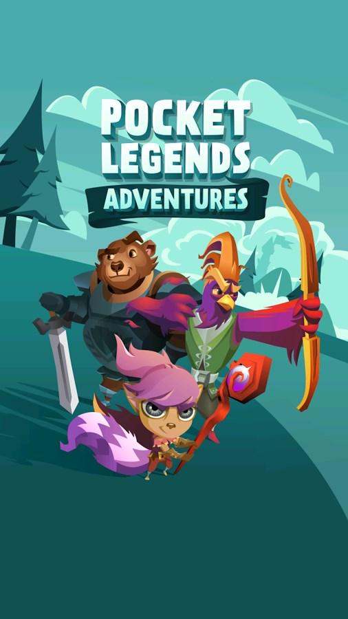 Pocket Legends Adventure - Imagem 1 do software