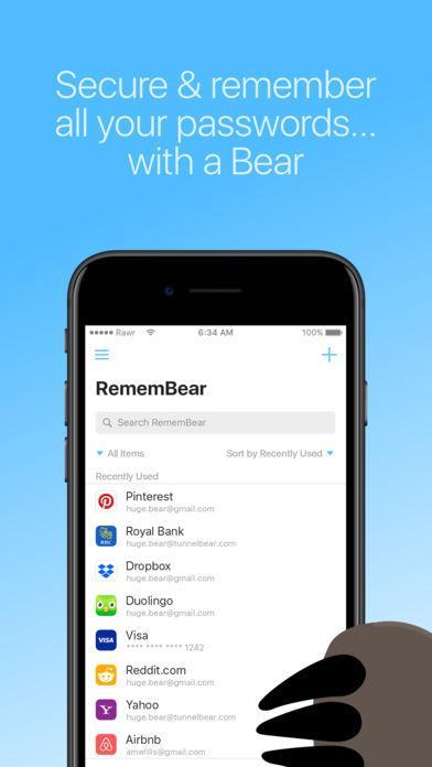 RememBear: Password Manager - Imagem 1 do software