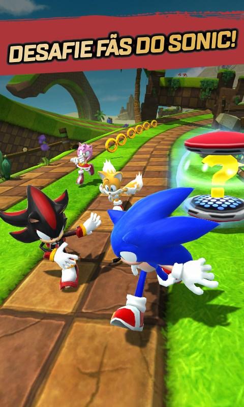 Sonic Forces: Speed Battle - Imagem 2 do software