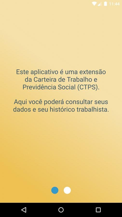 CTPS Digital - Imagem 2 do software