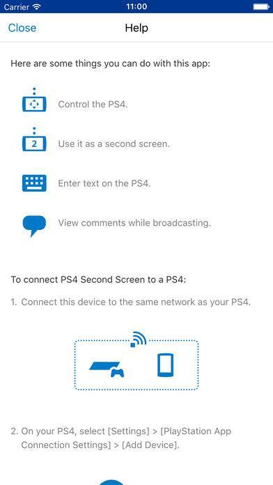 PS4 Second Screen - Imagem 2 do software