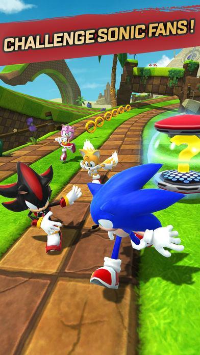 Sonic Forces: Speed Battle - Imagem 1 do software