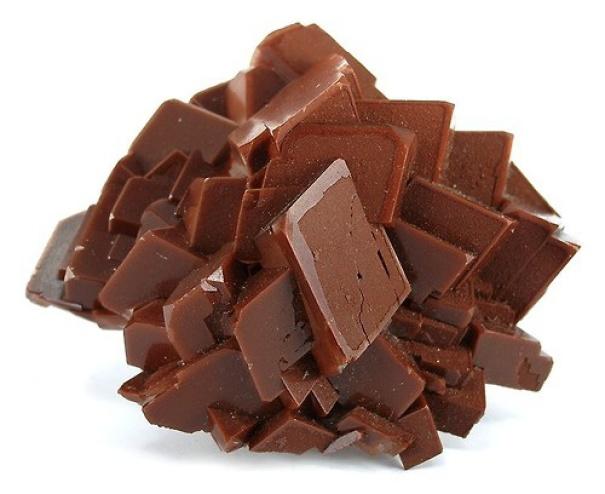 pedra com cara de chocolate