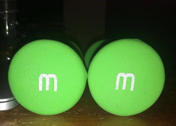 Pesos iguais M&Ms