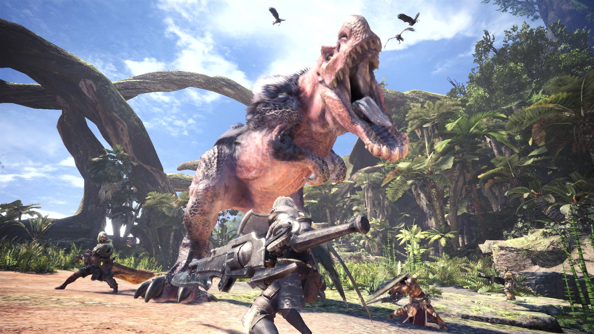 Monster Hunter World ganha detalhes de seu Beta e novo vídeo de introdução