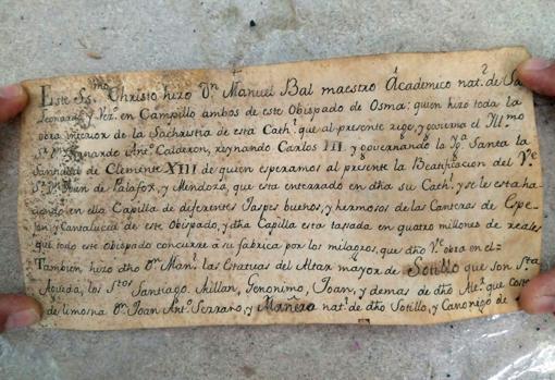 Manuscrito espanhol