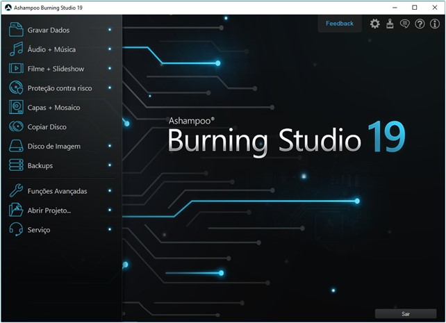 Ashampoo Burning Studio 19 - Imagem 1 do software