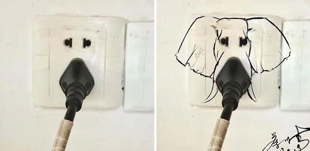 rosto de um elefante